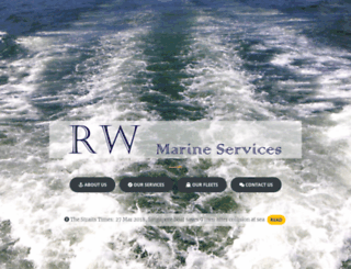 rwmarine.com.sg screenshot