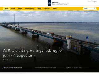 rws.nl screenshot