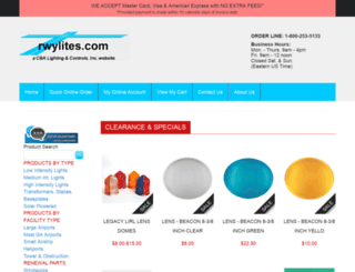 rwylites.com screenshot