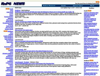 rxpgnews.com screenshot