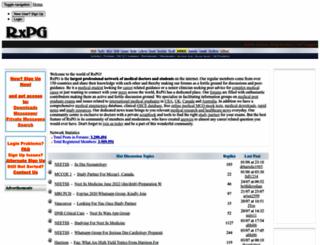 rxpgonline.com screenshot