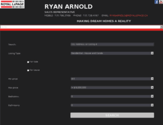 ryanarnold.net screenshot