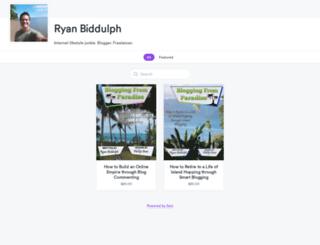 ryanbiddulph1.selz.com screenshot