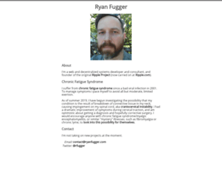 ryanfugger.com screenshot
