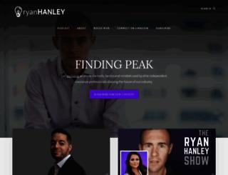ryanhanley.com screenshot