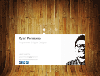 ryanpermana.com screenshot
