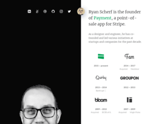 ryanscherf.net screenshot