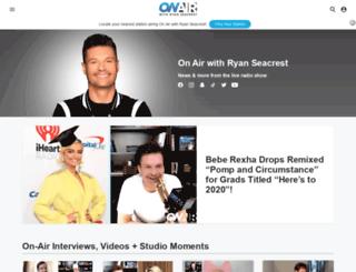 ryanseacrest.com screenshot