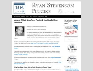 ryanstevensonplugins.com screenshot