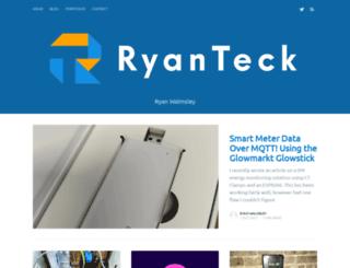 ryanteck.uk screenshot