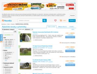 rybarske-bivaky-pristresky.heureka.cz screenshot