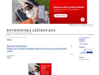 rychnovskalzicka.mypage.cz screenshot