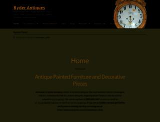 ryderantiques.com screenshot