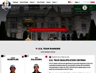 rydercup.com screenshot