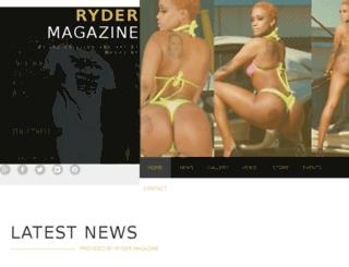 rydermagazine.com screenshot