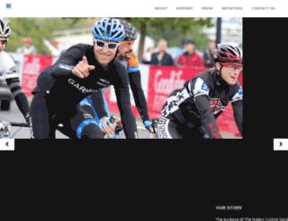 ryderscyclingsociety.org screenshot