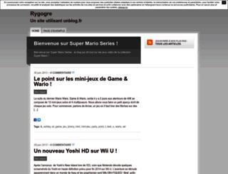 rygogre.unblog.fr screenshot