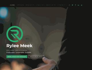 ryleemeek.com screenshot