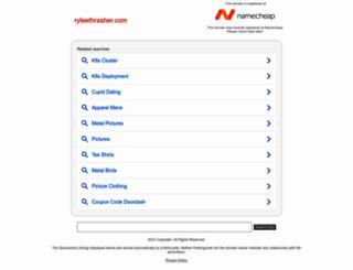 ryleethrasher.com screenshot