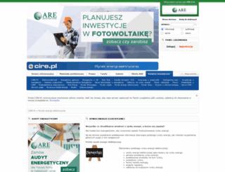 rynek-energii-elektrycznej.cire.pl screenshot