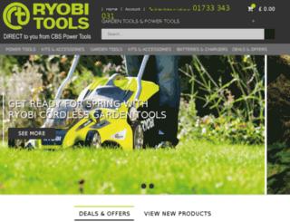 ryobi-direct.com screenshot