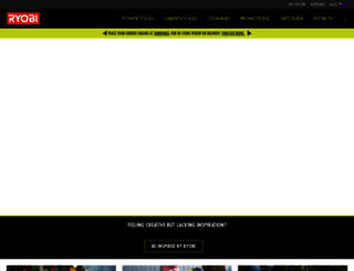 ryobi.com.au screenshot