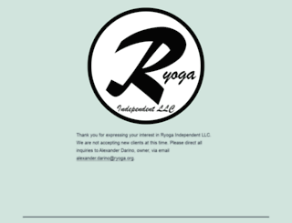 ryoga.org screenshot