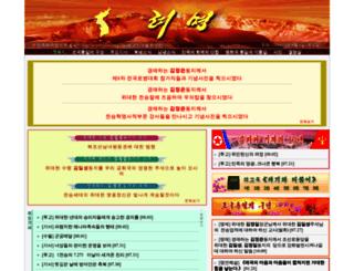 ryomyong.com screenshot