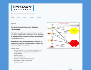 rysavy.com screenshot