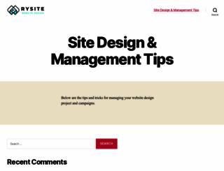 rysite.com screenshot
