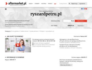 ryszardpetru.pl screenshot