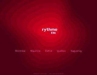 rythmefm.com screenshot