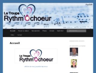 rythmochoeur.com screenshot