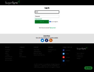 ryum513.sugarsync.com screenshot