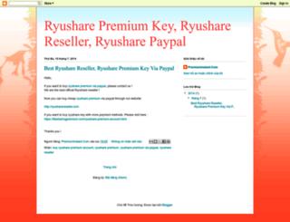 ryusharereseller.blogspot.com screenshot