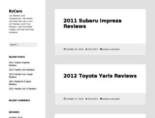 rzcars.com screenshot