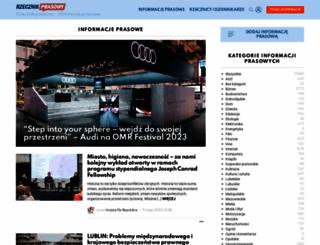 rzecznikprasowy.pl screenshot