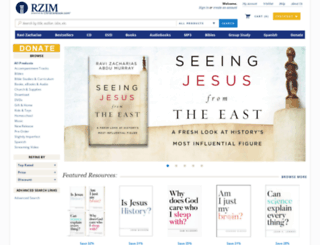 rzim.christianbook.com screenshot