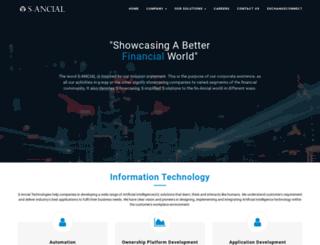 s-ancial.com screenshot