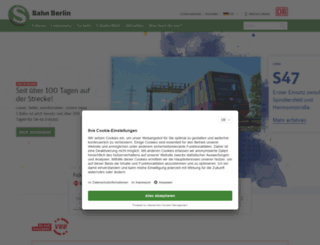 s-bahn-berlin.de screenshot