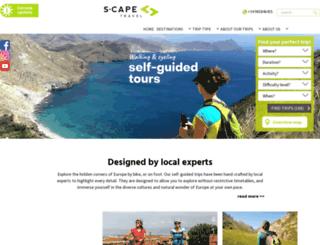 s-cape.eu screenshot
