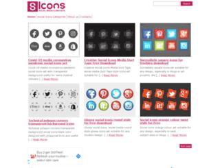s-icons.com screenshot