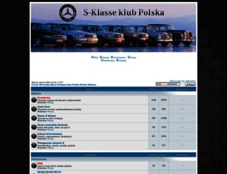 s-klasse-klub.pl screenshot