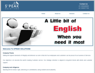 s-peaksolutions.com screenshot