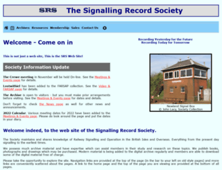 s-r-s.org.uk screenshot