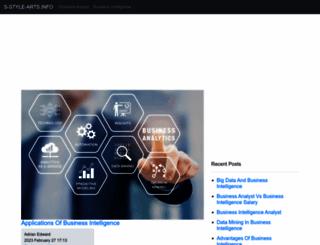 s-style-arts.info screenshot
