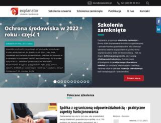 s.explanator.pl screenshot