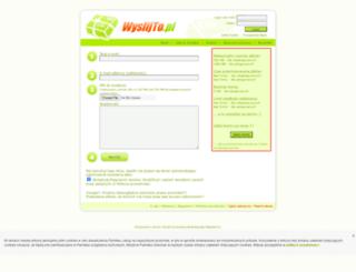 s012.wyslijto.pl screenshot