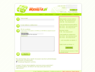 s016.wyslijto.pl screenshot