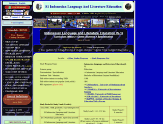 s1-indonesian-language-and-literature-education.sepakbola.biz screenshot